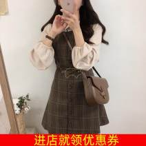 Cosplay women's wear jacket goods in stock Over 14 years old Army green, sky blue, chocolate comic S,M,L,XL