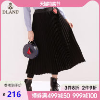 Casual pants Black / 19 155/60A 160/64A 165/68A 170/72A Spring of 2019 trousers loose  low-waisted Versatile 25-29 years old E·LAND Other 100%