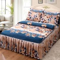 Bedding Set / four piece set / multi piece set spandex Embroidery, quilting Others See details Good dream Others 4 pieces See details Bed skirt 30% and below