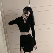 Casual suit Winter 2020 black S,M,L