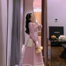 Dress Winter 2016 Pink S,M,L,XL,2XL Long sleeves Admiral