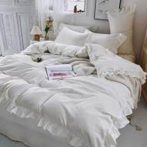 Bed skirt polyester fiber Pure white lace, pure white + grey lace, charming yellow lace, girl pink lace, fairy purple lace, star grey lace, silver fir green lace, white + dark grey label, mint + dark grey label, royal blue label, bean green + dark grey label, bean paste label Other / other