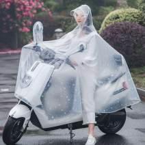 Poncho / raincoat Plastic XXL,XXXL,XXXXL adult 1 person routine Motorcycle / battery car poncho like a breath of fresh air