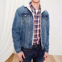 Jacket Other / other Youth fashion Denim medium blue S,M,L,XL,2XL,XS standard motion winter