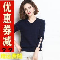 Dress Other Camel, pink, light red, blue, navy S,M,L,XL,XXL Long sleeves Solid color HJS20Q8987-2