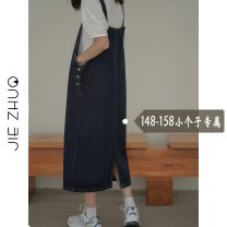 skirt Summer 2021 S M L XS Strapless skirt Mid length dress commute High waist Strapless skirt Type A 18-24 years old More than 95% Jie Zhuo other Korean version Other 100%