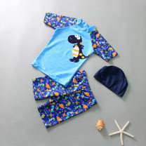 Children's swimsuit / pants other M (for height 80-95cm), l (for height 95-105cm), XL (for height 105-115cm), 2XL (for height 115-125cm), 3XL (for height 125-135cm), 4XL (for height 135-145cm) Leisure surf swimsuit, children's split swimsuit, children's swimsuit male polyester fiber