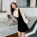 Women's large Winter 2016 Shirt + short skirt with strap S,M,L,XL Long sleeves H1455 Other