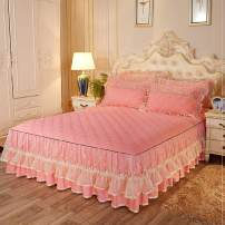 Bed skirt Others Blue, jade, pink, beibai, light green, light purple Other / other Solid color Qualified products