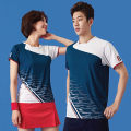 Badminton wear For men and women Yukes Football suit LH 33 Men with blue suit, women with red suit, women with blue suit S,M,L,XL,XXL,XXXL