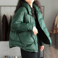 Cotton padded jacket female No detachable cap other Other / other Black, gray, green, khaki, collection priority Average size Solid color EtsiJ2xy 2 years old