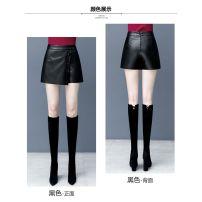 Casual pants black 26/S,27/M,28/L,29/XL,30/2XL,31/3XL Autumn 2020 shorts Wide leg pants High waist Versatile YC8091 Other zipper