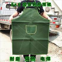 apron No pocket: 60 * 70 army green canvas apron, with pocket: 60 * 70 army green canvas apron, with pocket: 66 * 88 army green canvas apron, canvas apron: white small, no pocket: 66 * 88 army green canvas apron, canvas apron: White Large Sleeveless apron antifouling Simplicity canvas Other topics