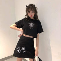Cosplay women's wear suit goods in stock Over 14 years old Black two piece set 2007 comic S,XL,L,M Other / other ND352455