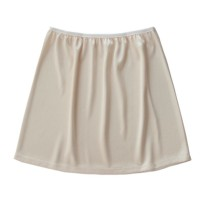 skirt Summer of 2019 Black, white, apricot, milk white Short skirt Versatile Natural waist other Solid color 18-24 years old knitting