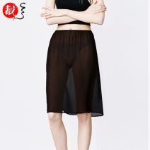 skirt Spring 2020 M,L,XL,2XL,3XL,4XL White long, white short, pink long, pink short, black short, skin color short, skin color long, black long Mid length dress commute Natural waist A-line skirt Solid color Type A 25-29 years old ZG2018090701 More than 95% Chiffon Yousilk / yousijia polyester fiber