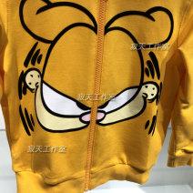 Sweater / sweater Other / other orange neutral 110cm,120cm,130cm,140cm spring and autumn No detachable cap Cartoon Zipper shirt routine cotton Cartoon animation GU3201AAO