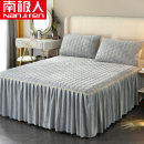 Bed skirt Others Other / other Solid color Qualified products