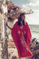 Beach pants Red and white embroidered Robe Average size female Xanyee / Chan Yi ZS984