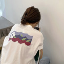 T-shirt White, black Average size Summer 2021 Short sleeve Crew neck easy Regular routine commute cotton 96% and above 18-24 years old Korean version youth Plants and flowers ONLY PERTECT printing