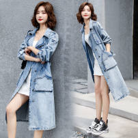 Outdoor casual clothes Tagkita / she and others female two hundred and six blue 201-500 yuan S [suggested 90-105 kg], m [suggested 105-115 kg], l [suggested 115-125 kg], XL [suggested 125-135 kg], 2XL [suggested 135-145 kg], 3XL [suggested 145-160 kg] other Autumn 2020 Medium length