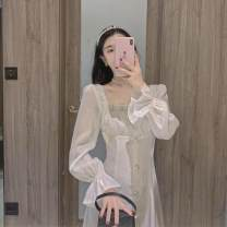Down jacket Tagkita / she and others Pearly white, collection plus purchase priority delivery female S,M,L 101-200 yuan one hundred and five point six zero White Velvet Autumn 2020 have more cash than can be accounted for 100g (including) - 150g (excluding) 90%