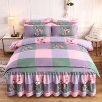 Bedding Set / four piece set / multi piece set spandex Embroidery, quilting Others See details Other / other Others 4 pieces See details 1.5 bed skirt 4-piece quilt cover 2.0 * 2.3, 1.8 bed skirt 4-piece quilt cover 2.0 * 2.3, 2.0 bed skirt 4-piece quilt cover 2.0 * 2.3 Bed skirt Simplicity