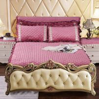 Bed skirt Acetate fiber Gray, camel, purple, bean paste, royal blue, beige, gray - no bed tail, bean paste - no bed tail, royal blue - no bed tail, beige - no bed tail, pink, grass green, camel - no bed tail, purple - no bed tail, grass green - no bed tail, Pink - no bed tail Other / other C-001