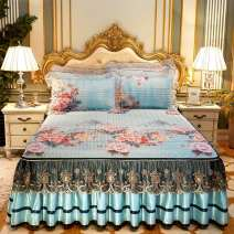 Bed skirt 150cmx200cm,180cmx200cm,200cmx220cm,180cmx220cm Others Other / other Plants and flowers Qualified products