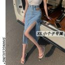 skirt Summer 2021 S M XS L Blue black Mid length dress commute High waist A-line skirt Solid color Type A 18-24 years old .8733 More than 95% other Shang Cuiling other Simplicity Other 100% Pure e-commerce (online only)
