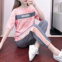 Casual suit Summer 2020 876 popular, 871 purple, 874 picture color, 873 white top, 873 black top, pink pants, 873 pink top, 873 full set black, 869 light blue, 869 white, 869 purple, 870 blue, 870 purple, 870 black, 870 orange, 872 black, 872 white, 865 white, 865 black, 866 yellow 18-25 years old
