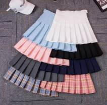 skirt Summer of 2018 S is suitable for body weight (75-84 kg), M is suitable for body weight (85-94 kg), l is suitable for body weight (95-104 kg), XL is suitable for body weight (105-114 kg), 2XL is suitable for body weight (115-124 kg), 3XL is suitable for body weight (125-135 kg) Short skirt Sweet