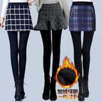 Casual pants Black and white plaid stitching, fake two pieces (black pants), fake two pieces (gray pants), fake two pieces (Caramel pants), 02 button, 02 suspenders, 02 black and white fishtail skirt, 02 gray four deduction, 02 black four deduction, 02 blue four deduction M,L,XL,3XL,XXL trousers