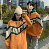 Outdoor casual clothes Tagkita / she and others female 51-100 yuan S,M,L,XL,2XL,3XL Sweater Autumn 2020 Long sleeves autumn Hood Medium length