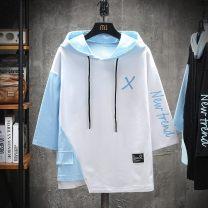 Outdoor casual clothes Tagkita / she and others male 51-100 yuan M,L,XL,4XL,5XL,6XL,2XL,3XL Sweater Autumn 2020 three quarter sleeve summer Hood routine