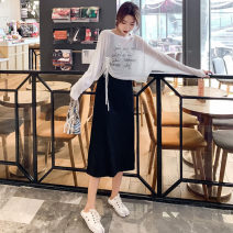 Fashion suit Summer 2021 S,M,L Two pieces of fashionable slim dress are grey, while two pieces of fashionable slim dress are black MAJE BRIAN 21031104z