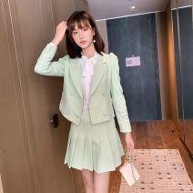Cosplay women's wear Other women's wear goods in stock Over 14 years old Fruit green - two piece set comic S,M,L Other See description