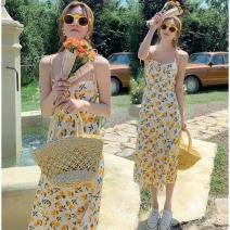 Outdoor casual clothes T7 female 51-100 yuan other other Sleeveless Medium length other