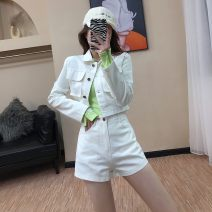 Cosplay women's wear Other women's wear goods in stock Over 14 years old Black, white, khaki comic M, L