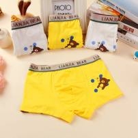 underpants Cotton polyester Tongcao S size suggests 18-26 Jin for 1-3 years old, M size suggests 26-36 Jin for 3-5 years old, L size suggests 36-48 Jin for 6-8 years old, XL SIZE suggests 48-62 Jin for 8-10 years old, XXL size suggests 62-75 Jin for 10-12 years old Other 100% male 14 years old