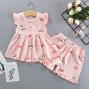 Home suit Other / other 55 (recommended height 65-80cm), 60 (recommended height 80-90cm), 65 (recommended height 90-100cm), 70 (recommended height 100-110cm) Strawberry cat, skirt, blue bottom bunny, skirt, white pineapple, skirt, white cherry, skirt, blue bottom girl, skirt, white bottom, and skirt.