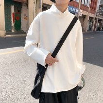 T-shirt other White, black routine M. L, XL, s small, XS plus small Others Long sleeves High collar easy daily spring 2021