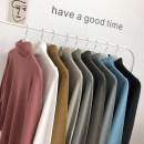 T-shirt / sweater Others Youth fashion White, black, dark gray, red bean paste, gray blue, gray green, army gray, light apricot, tukhaki S. M, l, XL, 2XL, XS plus small routine Socket Reversible collar Long sleeves easy 2019 teenagers Regular wool (10 stitches, 12 stitches)