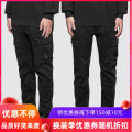 Casual pants Others Youth fashion Black, army green, khaki M,L,XL,2XL routine trousers Other leisure easy No bullet Four seasons teenagers tide 2020 middle-waisted Straight cylinder Overalls Pocket decoration washing Solid color cotton cotton Fashion brand
