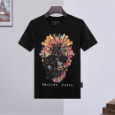 T-shirt Youth fashion White, black routine M,L,XL,2XL,3XL Others Short sleeve Crew neck standard Other leisure summer youth routine tide 2020 skull printing cotton Skeleton devil No iron treatment Fashion brand