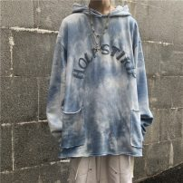 T-shirt Youth fashion The sky is blue and white routine M,L,XL Others Long sleeves other easy Other leisure autumn youth tide 2020 cotton More than 95%