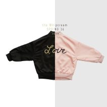 Jacket / leather Other / other neutral Black, pink 80cm,90cm,100cm,110cm,120cm other spring and autumn There are models in the real shooting Other 100%