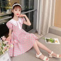 Dress Pink, blue female Other / other 110cm,120cm,130cm,140cm,150cm,160cm,170cm Cotton 91.5% polyester 8.5% summer princess Long sleeves lattice cotton Strapless skirt QL-693036 Class B 14, 3, 5, 9, 12, 7, 8, 6, 13, 11, 4, 10 Chinese Mainland Zhejiang Province Hangzhou