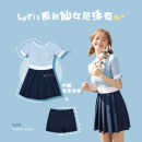 one piece  lyric M (recommended body weight 70-95 kg) l (recommended body weight 95-105 kg) XL (recommended body weight 105-120 kg) 2XL (recommended body weight 120-140 kg) Skirt one piece With chest pad without steel support Nylon spandex polyester G0105 Summer of 2019 female Short sleeve