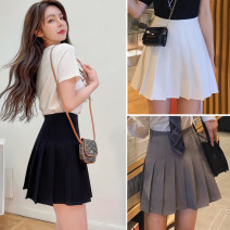 skirt Spring 2021 XXS XS S M L XL XXL Short skirt commute High waist Pleated skirt Solid color Type A 18-24 years old s00166 91% (inclusive) - 95% (inclusive) other Saritine polyester fiber Zipper suit skirt Polyester fiber 93.5% polyurethane elastic fiber (spandex) 6.5% Pure e-commerce (online only)